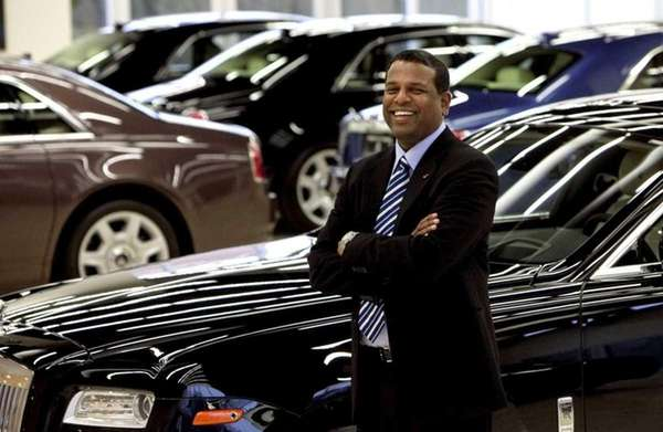 Antoine Dominic, who sells luxury vehicles, says he