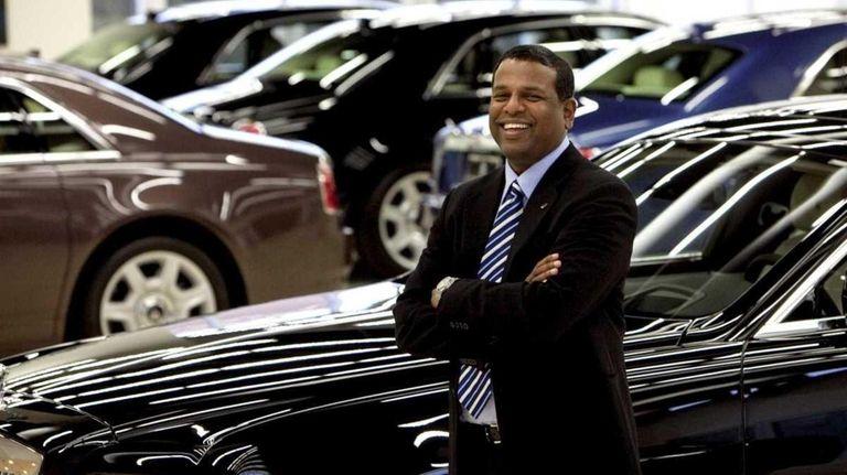 Antoine Dominic, who sells luxury vehicles, says he
