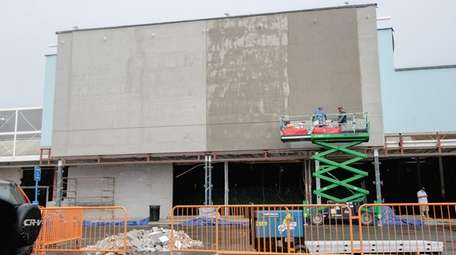 Construction continues on a planned Whole Foods, slated