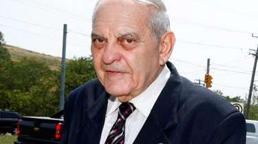 Former Nassau County District Court Judge Samuel Levine