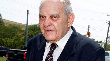 Former Nassau County District Court Judge Samuel Levine