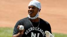 Marcus Stroman of the Mets during summer camp