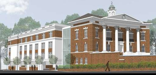 The $10.4 million Huntington Hotel project involves converting