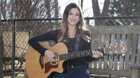 Singer/songwriter Charlie Dane, 14, of Oyster Bay, will