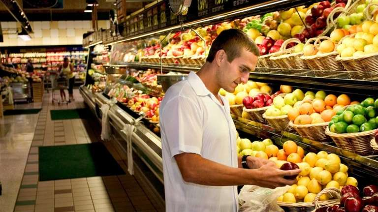 Concern over food prices fell during a survey