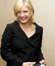 Diane Sawyer: The ABC evening news anchor, who