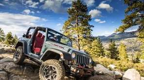 A 2013 Jeep Wrangler is shown. Chrysler's Jeep
