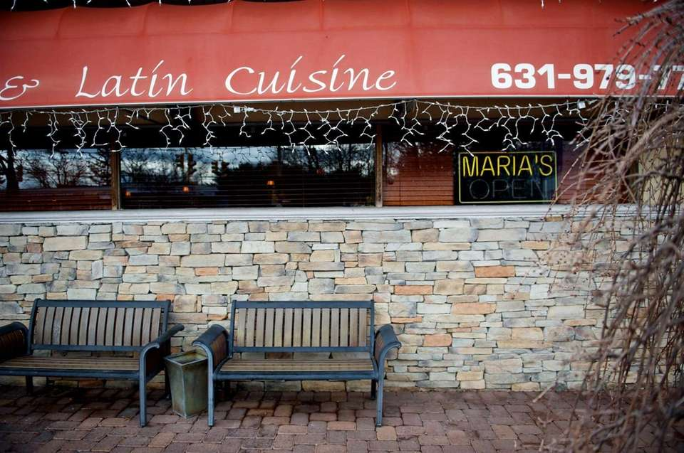Maria's Mexican ...Latin Cuisine restaurant in Nesconset. (Feb.