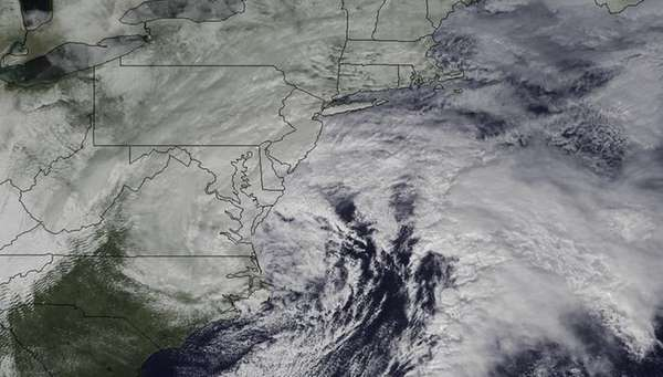 A late-winter storm impacts the mid-Atlantic before delivering