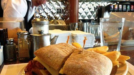 At Premier Diner in Commack, a Cuban sandwich