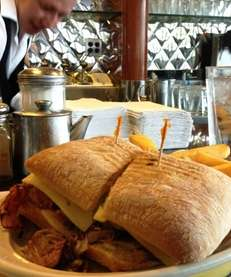 At Premier Diner in Commack, a Cuban sandwich