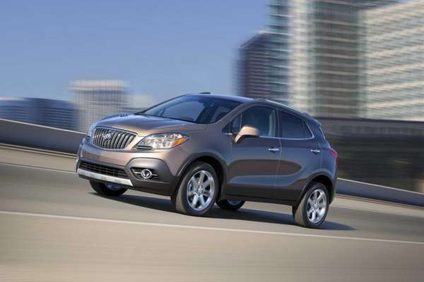 Prices for the new Buick Encore start at