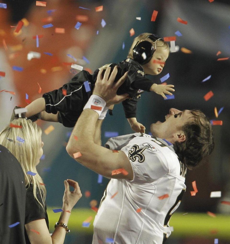 Super Bowl won: Super Bowl XLIV New Orleans'