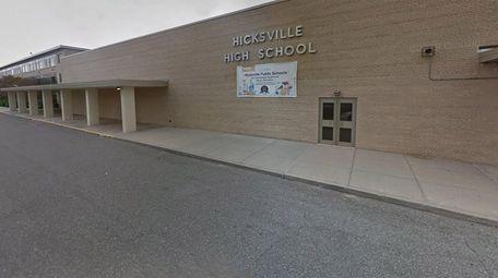 Hicksville High School in 2018.