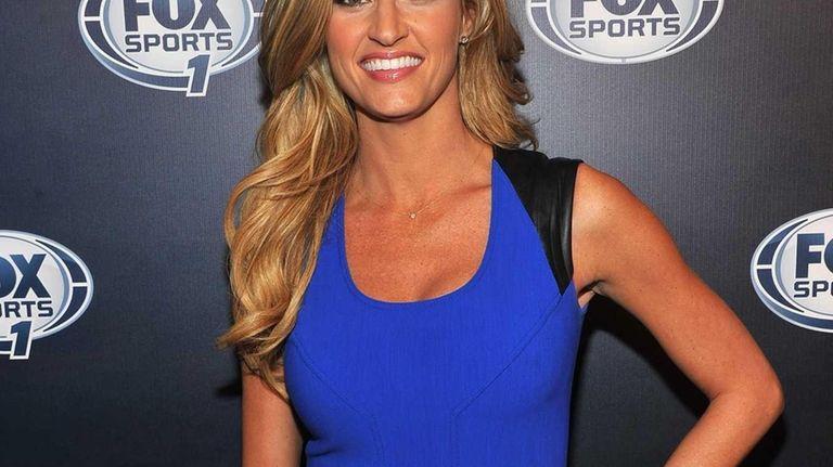 Erin Andrews attends the 2013 Fox Sports Media