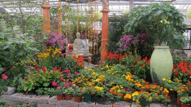International garden influences are the focus of the