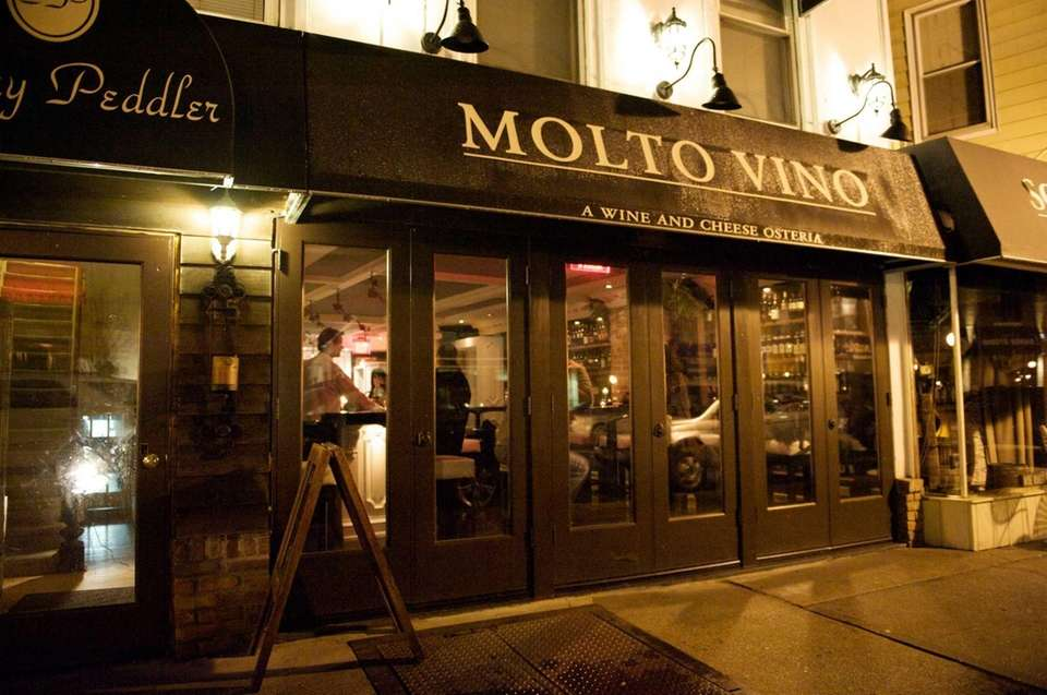 Molto Vino is located in the heart of