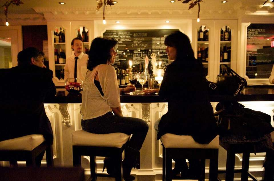 Sophisticated details create a intimate vibe at Molto
