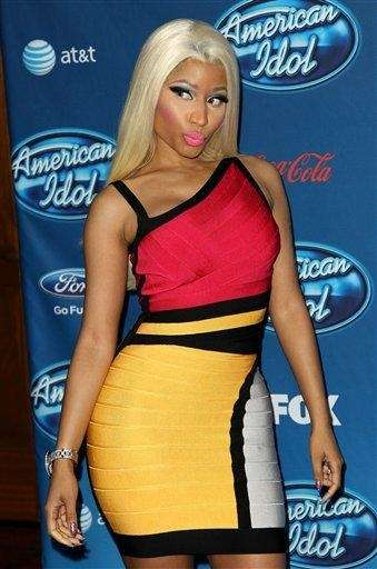 "Nicki Minaj attends the ""American Idol"" premiere event"