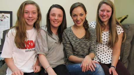 Singer and actress Laura Osnes who stars in