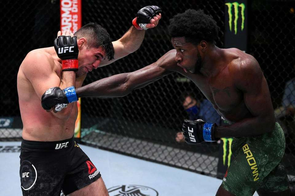 In this handout image provided by UFC, Randy