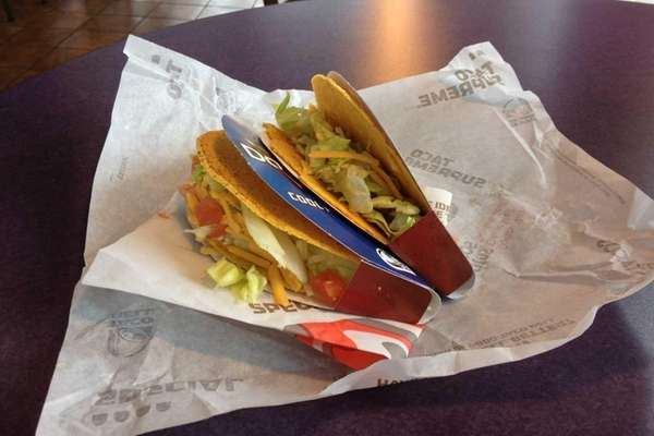 Taco Bell has introduced the Cool Ranch Doritos
