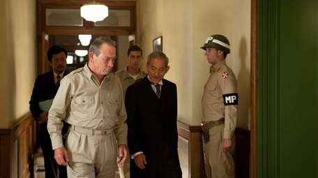 Tommy Lee Jones stars as Gen. Douglas MacArthur