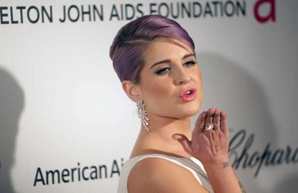 Kelly Osbourne arrives for the 21st Elton John