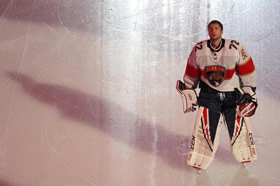 TORONTO, ONTARIO - AUGUST 04: Goalie Sergei Bobrovsky