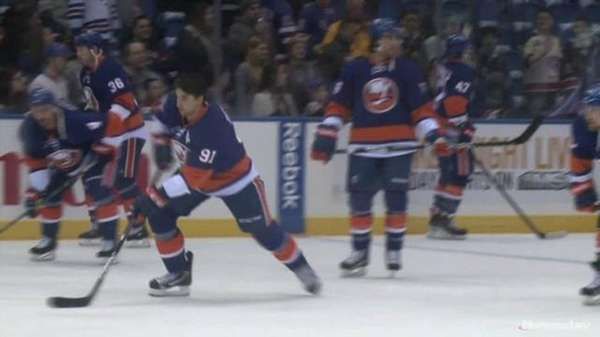 Marian Gaborik's power play goal in overtime gave the Rangers a 2-1 win over the Islanders at the Coliseum on Thursday night. Videojournalists: Robert Cassidy, Casey Musarra (March 7, 2013)
