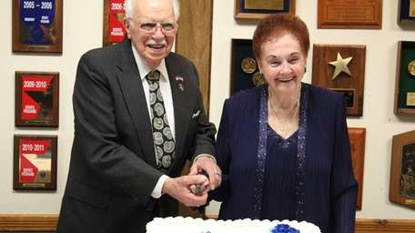 Aileen and Robert Passanisi at their 70th anniversary