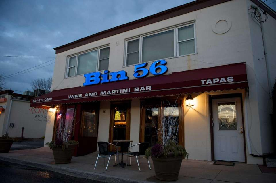 Bin 56 is a wine and tapas bar