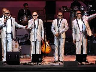 "The Blind Boys of Alabama perform at ""The"