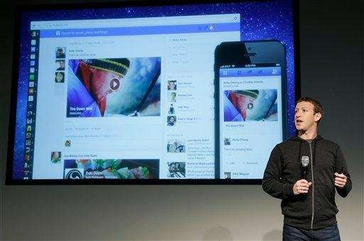 Facebook CEO Mark Zuckerberg speaks at Facebook headquarters