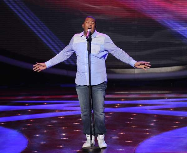 """American Idol"": Curtis Finch Jr. is the third"