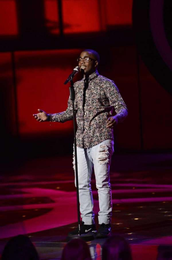 """American Idol"": Burnell Taylor is the second boy"