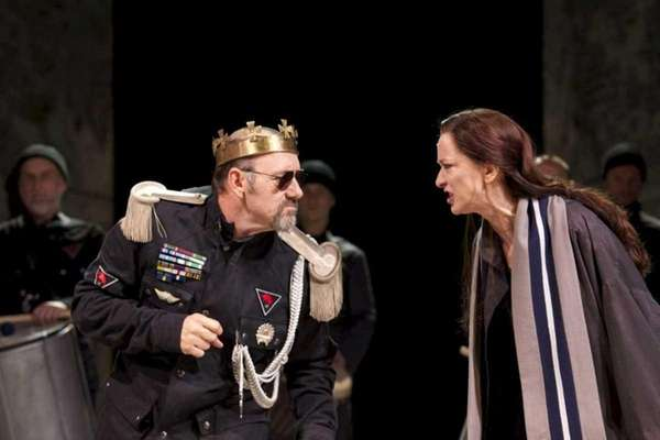 Kevin Spacey and Haydn Gwynne in