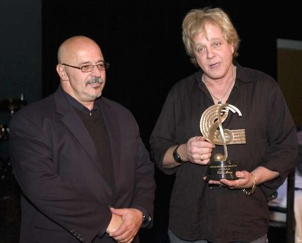 Long Island's own Rock Star Eddie Money (right)