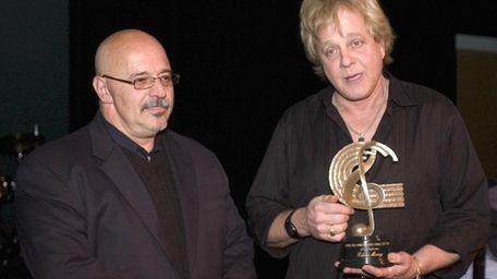 Long Island's own Rock Star Eddie Money (right)
