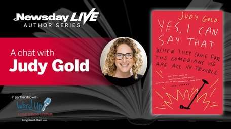 Award-winning comedian Judy Gold is talking about her