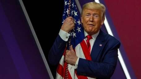 President Donald Trump on Feb. 29 at the