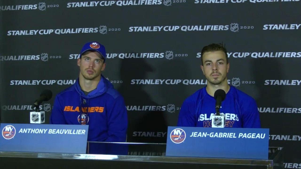 Islanders forward Jean-Gabriel Pageau talks aboutthe undisciplined things