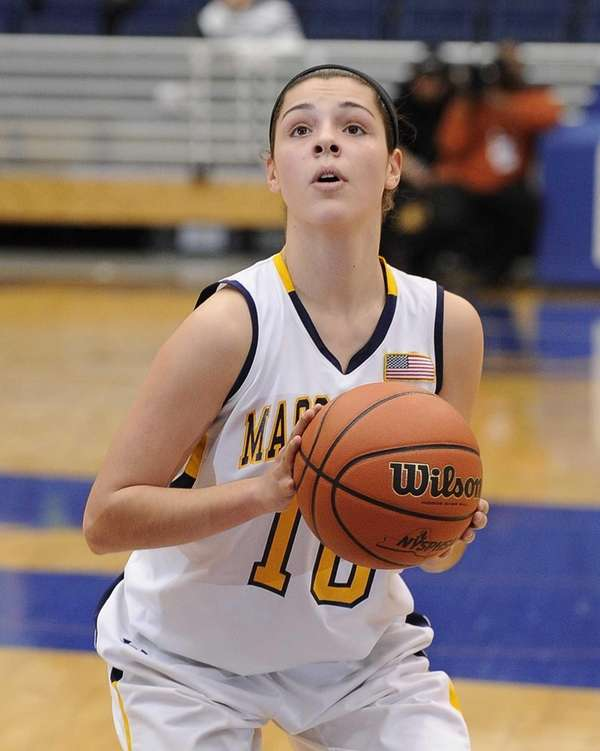 Massapequa's Olivia Batista shoots a free throw against