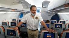 Gov. Andrew M. Cuomo traveled to Savannah, Ga.,