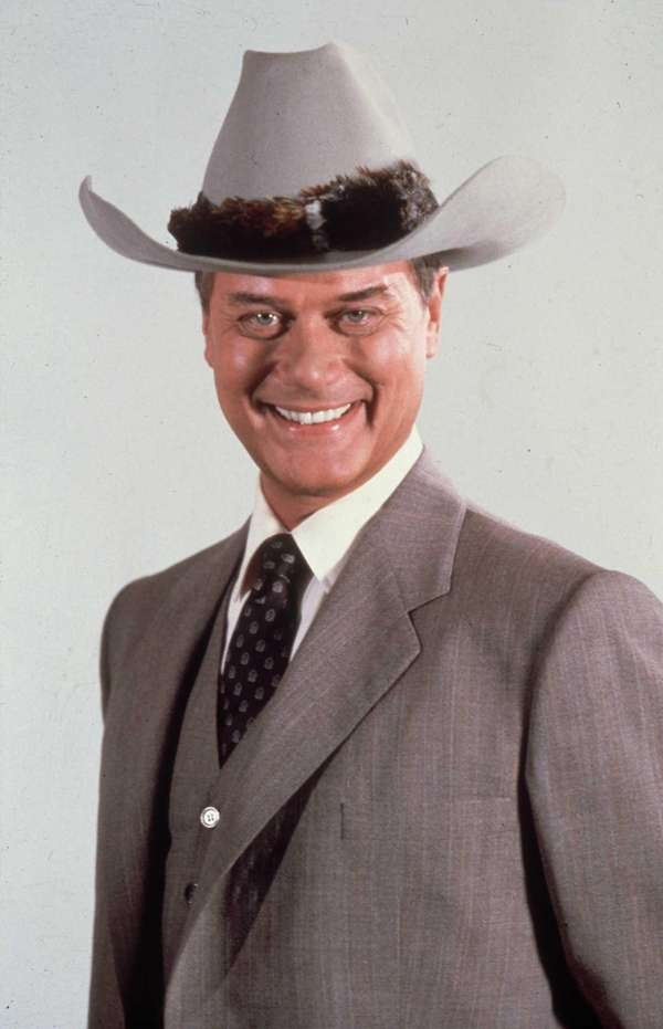 FILE - NOVEMBER 23: Actor Larry Hagman who