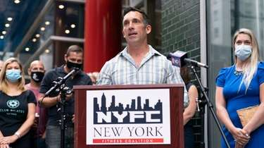 Charles Cassara, a Long Island gym owner and