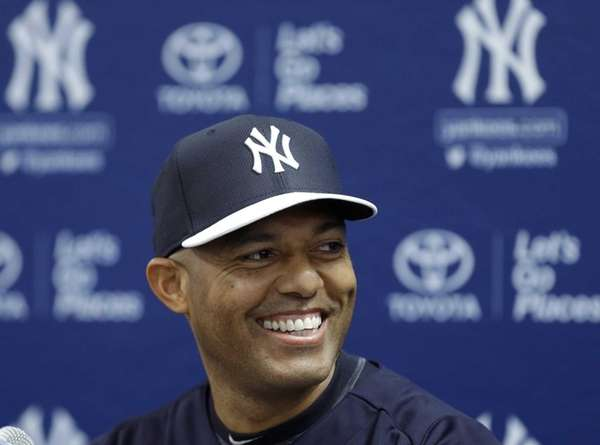 Yankees pitcher Mariano Rivera, who holds baseball's all-time