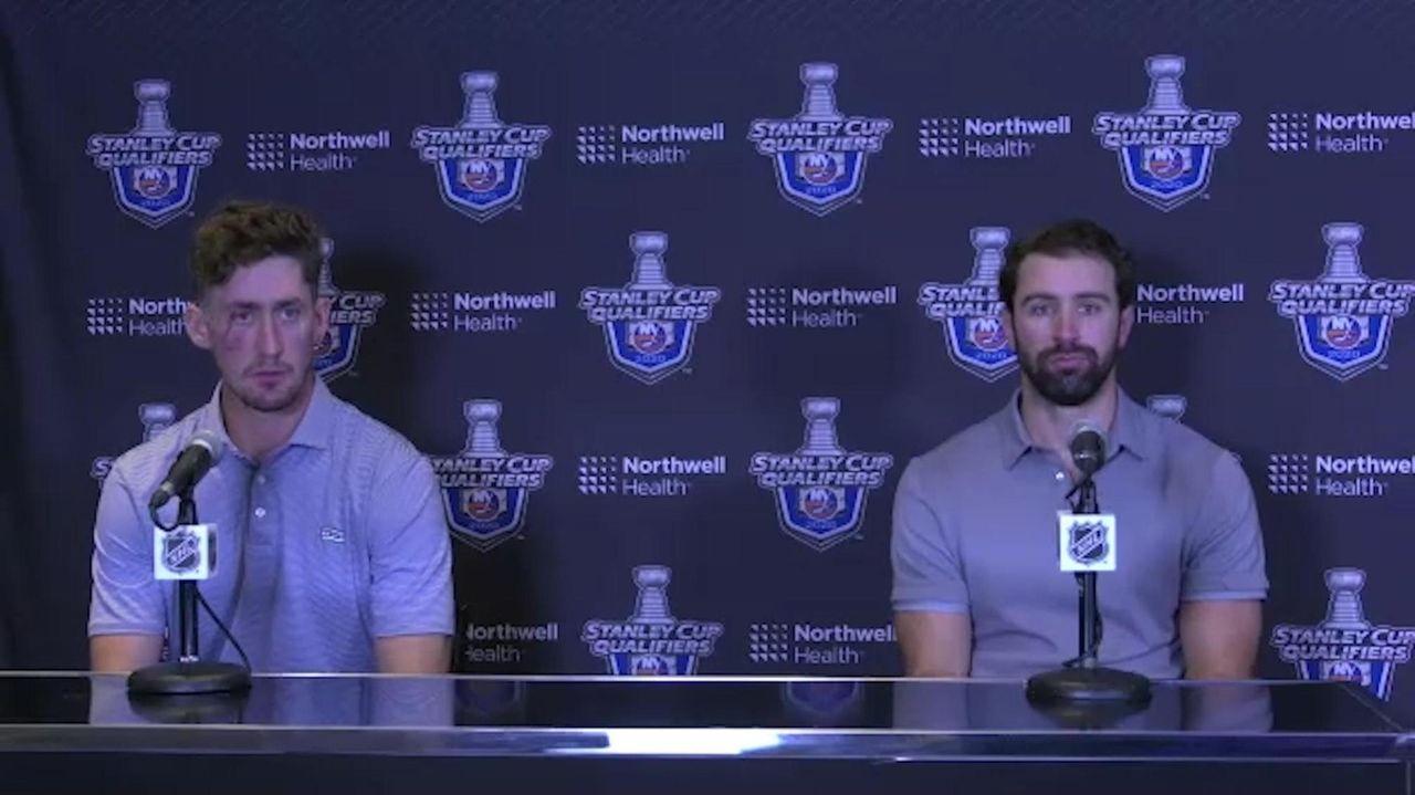 Islanders forward Brock Nelson talks about what happened