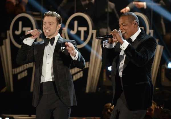 Megastars Justin Timberlake and Jay-Z will perform together