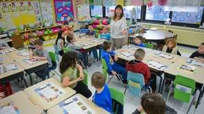 Donna Villez teaches her second grade class about